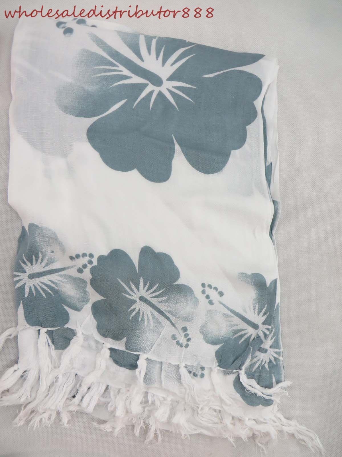 Scarf wrap blue grey hibiscus flower of hawaii sarong wholesale scarf wrap blue grey hibiscus flower of hawaii sarong wholesale beachwear un9 izmirmasajfo