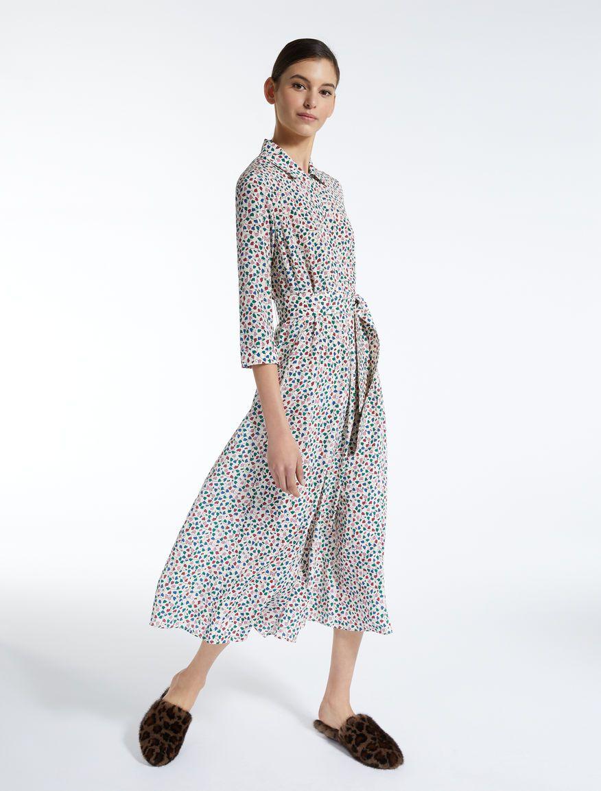 9a3839fbeacd Silk crepe de chine dress Weekend Maxmara | Wardrobe: Home | Dresses ...