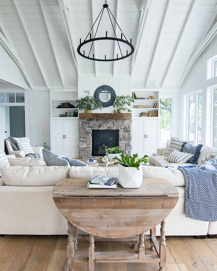 House Tour With Images White Living Room Decor Farm House