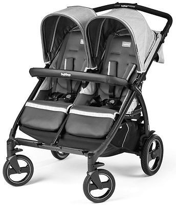 Details about Peg Perego Book For Two Compact Easy Fold Twin Baby ...