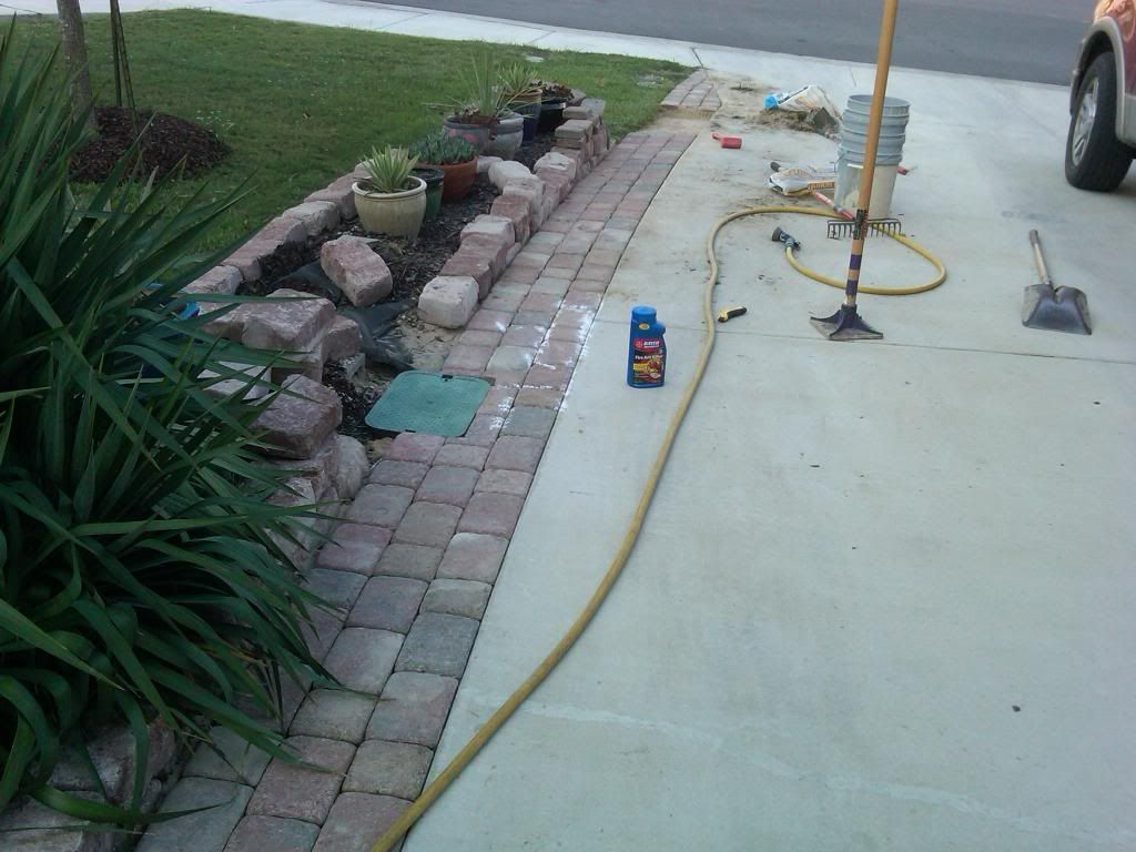 Pavers for driveway extension vs concrete slab ar15 pavers for driveway extension vs concrete slab ar15 outdoor projects diy solutioingenieria Images