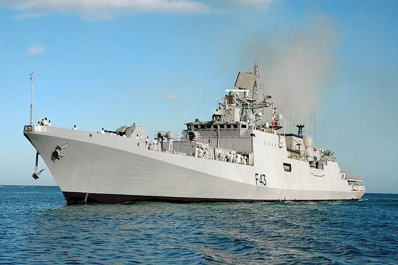 Ins Trishul Entering Jubail Saudi Arabia Ins Trishul F43 Wikipedia In 2020 Indian Navy Warship Trishul