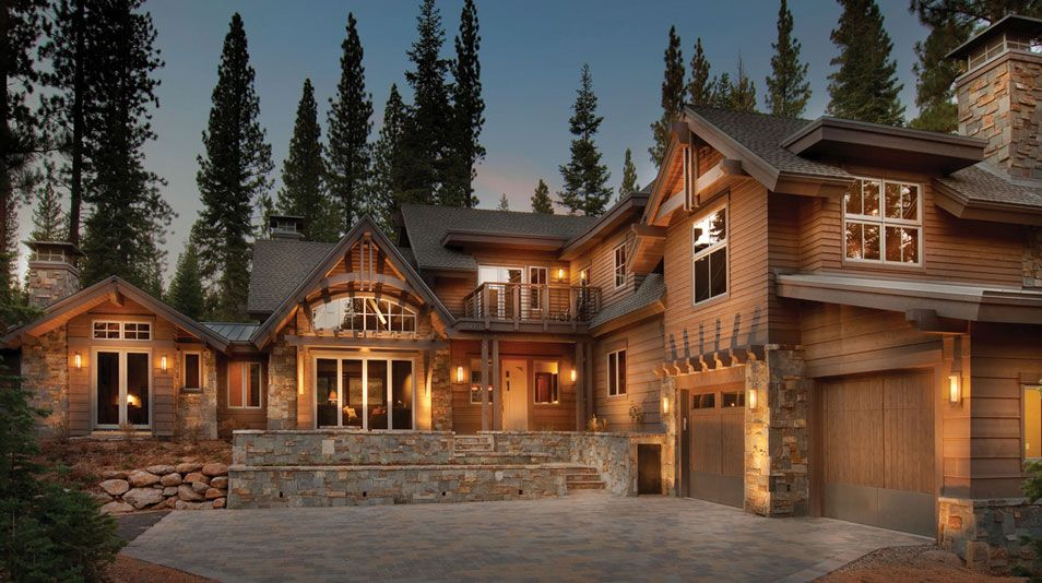Pretty mountain home luxury for Colorado mountain home plans