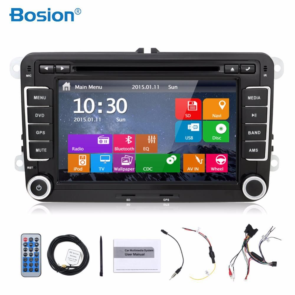 2din Car Dvd Player 7 Inch Ram 2g Rom 16gb For Vw Tiguan Tiguan