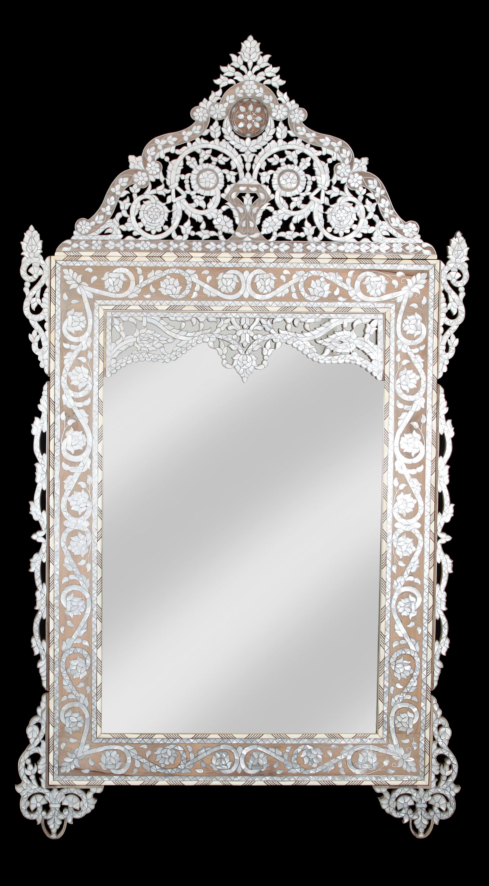 Mother Of Pearl Mirror Quickly Spruce Up An Old Mirror Mirror Frame Diy Mother Of Pearl Mirror Diy Mirror