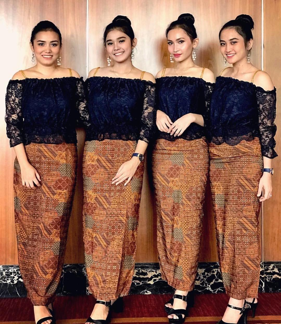 Model Kebaya Modern  Model pakaian muslim, Model baju wanita