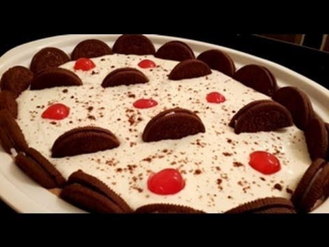 Chocolate ice cream cake with oreo in urduhindi by azra salim chocolate ice cream cake with oreo in urduhindi by azra salim youtube ccuart Image collections