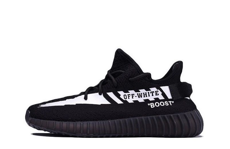 fab761fdc84 Best Off-White® x Adidas Yeezy Boost 350 V2 Black OW9618 (1 ...