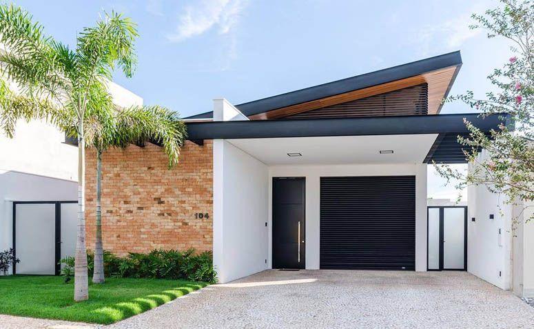 Photo of Facciate di case moderne: 38 progetti incredibili per il 2020
