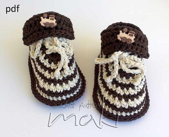 Crochet Pattern Baby Booties Super Cute Baby Shoes Crochet Pattern