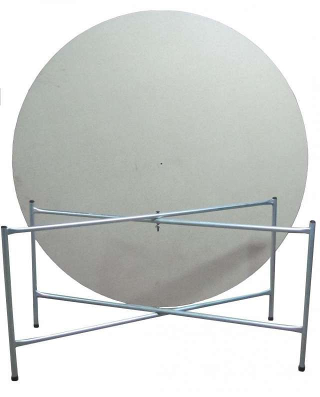 Mesa atril plegable eventos mesas redondas mesas for Mesas redondas plegables para eventos