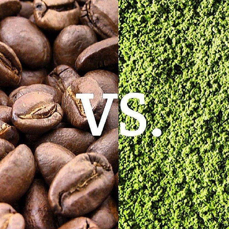 Matcha green tea powder and caffeine all you need to