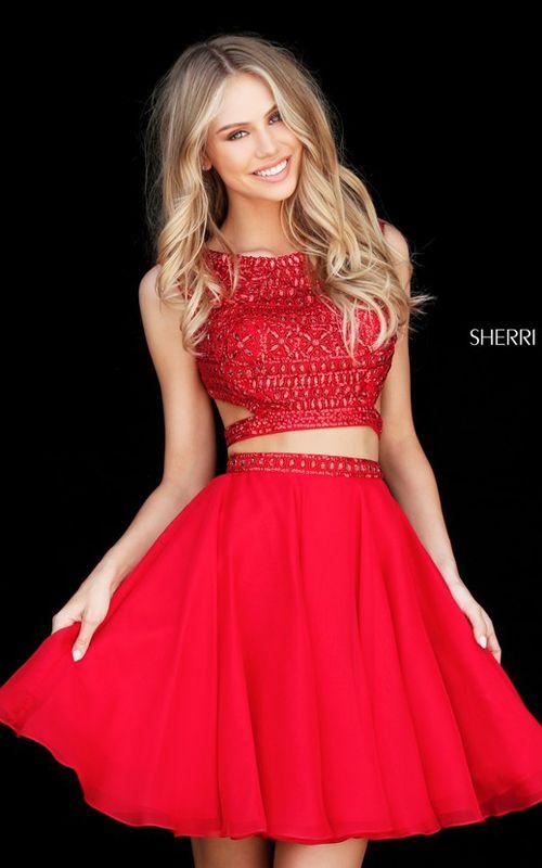 Short Red Formal Dress