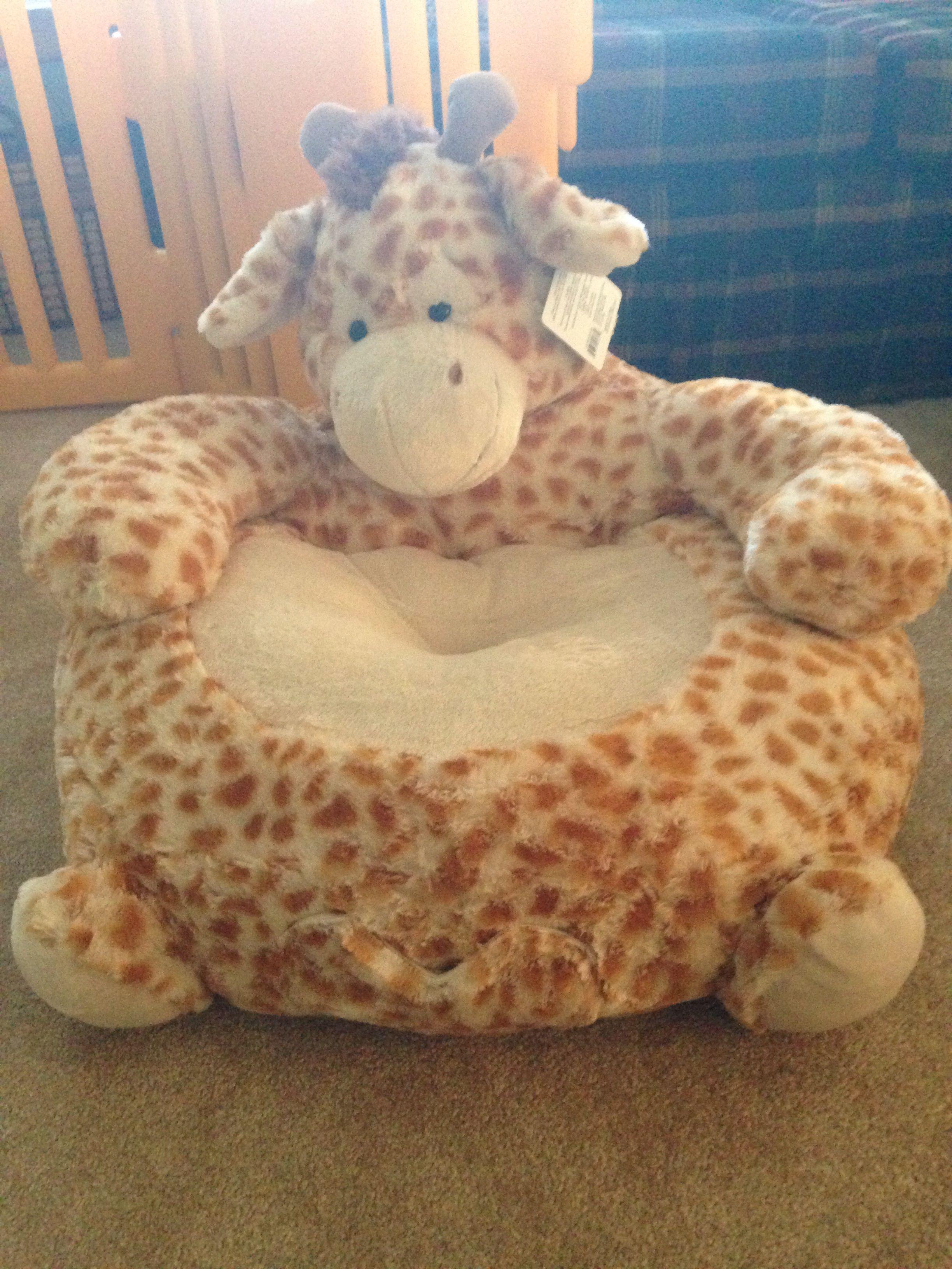 Beau Stuffed Animal Giraffe Chair