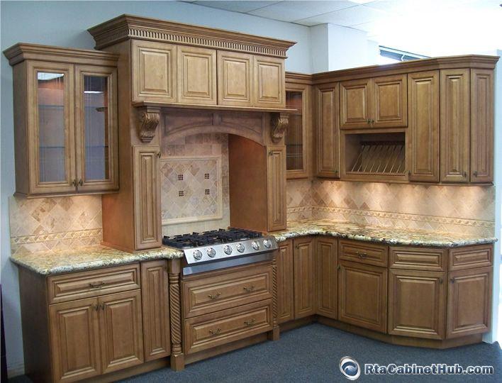 Cinnamon Maple Glaze Glazed Kitchen Cabinets Kitchen Projects