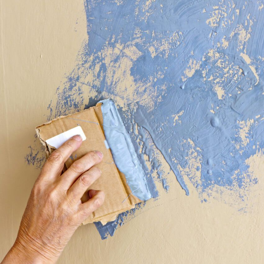 7 Painting Mistakes and How to Fix Them Texture, Wall