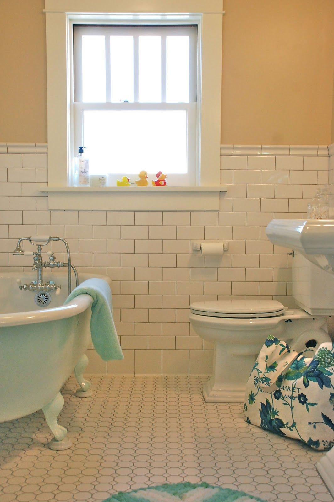 American bath classic craftsman 1912 bungalow bathroom for Bathroom restoration ideas