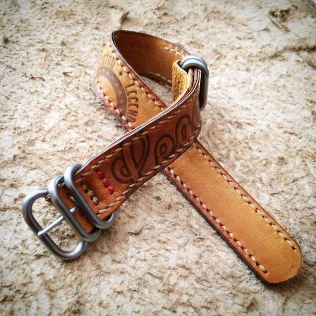 Baseball Glove Zulus Watch Strap Custom Strap Leather