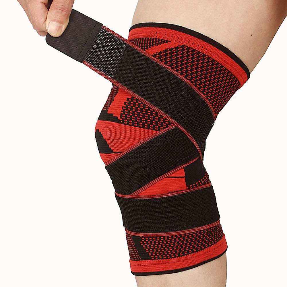 Weaving Breathable Knee Brace Basketball Tennis Hiking Cycling Knee Support Knee Support Basketball Knee Knee Pads