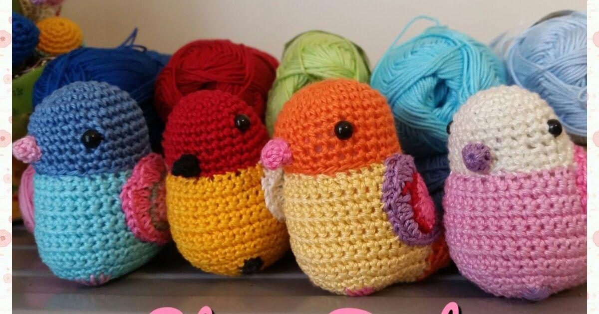 Amigurumi Bird Tutorial : Stevie bird the free amigurumi bird crochet pattern amigurumi