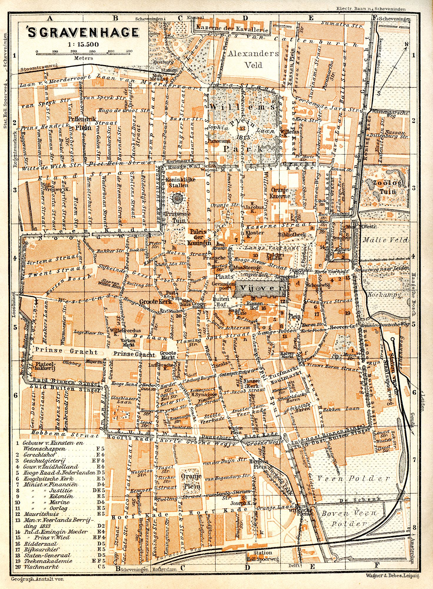 Vintage Map Of Holland The Hague Its Free For Any Use