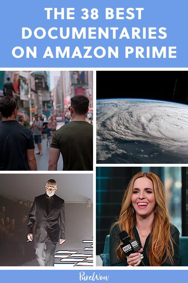 The 38 Best Documentaries on Amazon Prime #purewow #movies #news #amazon #entertainment #documentary #celebrity #amazon shows