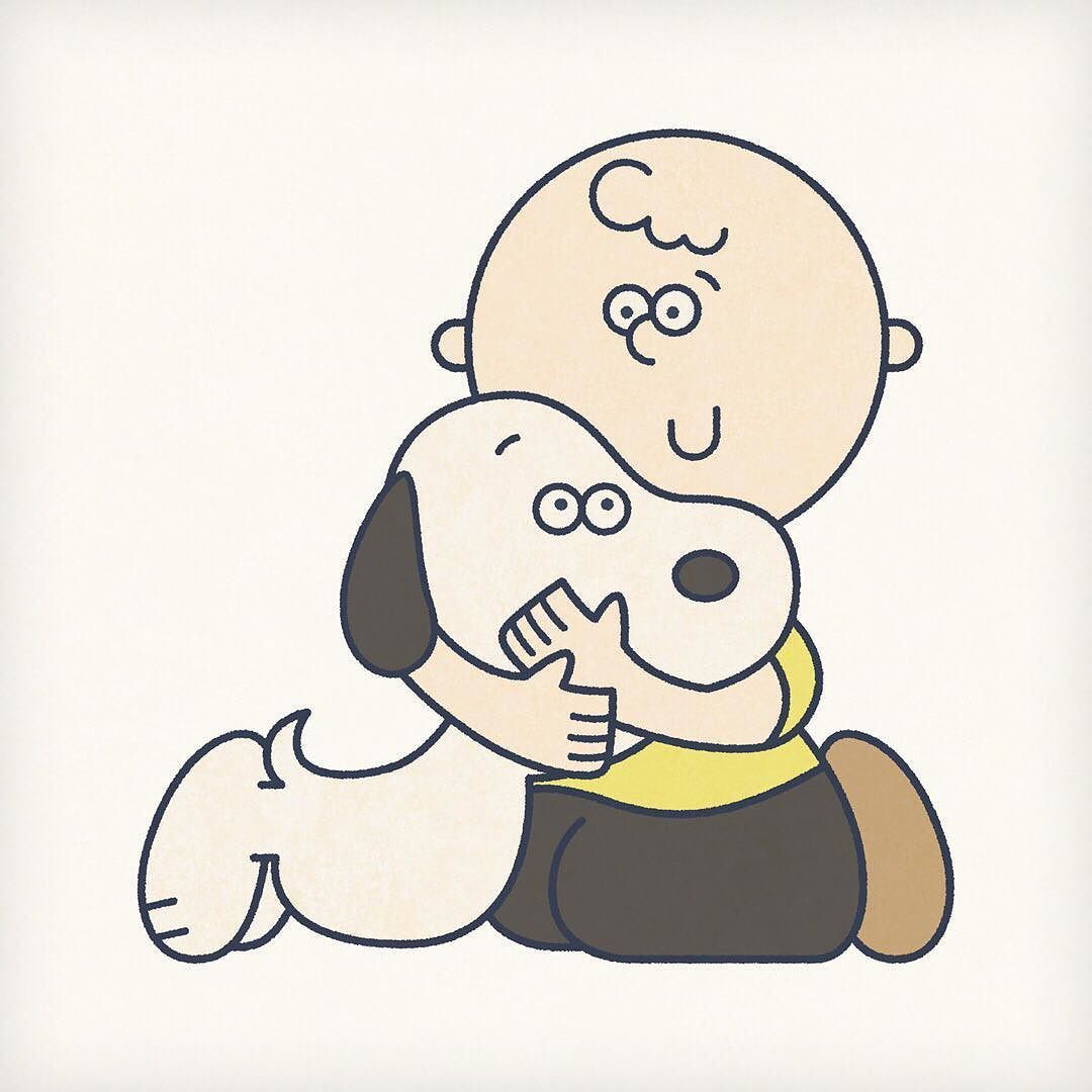 #Snoopy & Charlie Brow