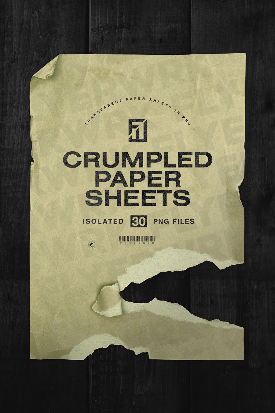 Crumpled Paper Sheets In Png Are You Looking For A Stylish And Authentic Looking Texture Set Then T Crumpled Paper Graphic Design Resources Cover Art Design