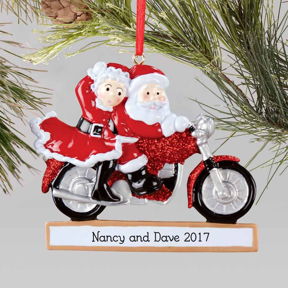 Santa and Mrs. Claus Couples Christmas Ornament