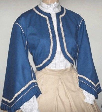 zouave jacket pattern - Google Search