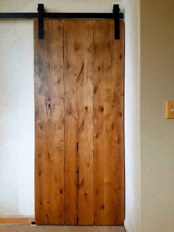 Ted with Rustic Barnwood Custom Designs completed this ...
