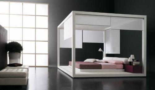 50 coole Ideen für Himmelbetten aus Holz im Schlafzimmer Lorraine - schlafzimmer ideen weis modern