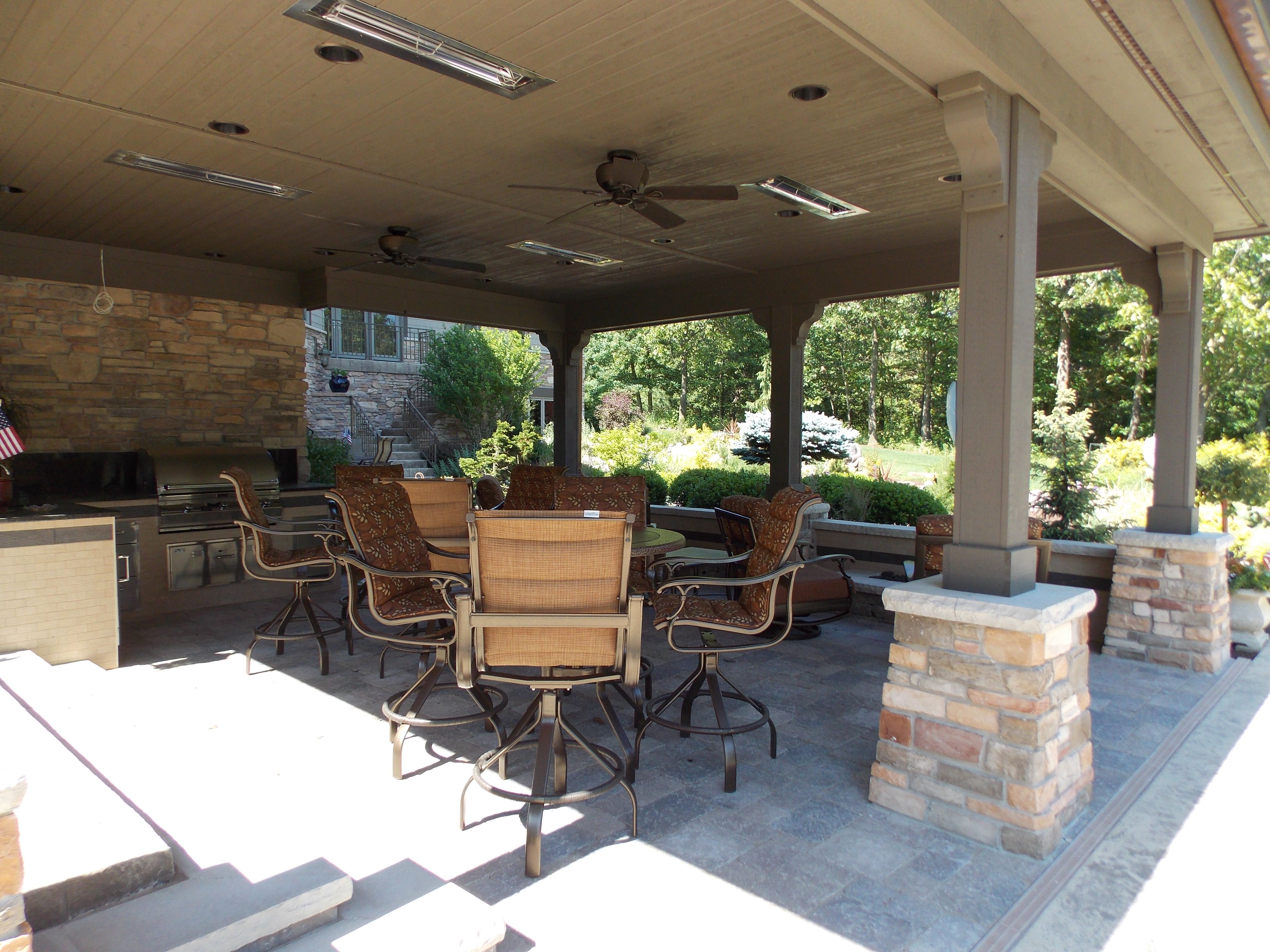 Outdoor Kitchen | Small patio spaces, Outdoor living ... on Outdoor Living Spaces Nw id=24324