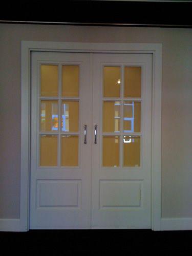 Puertas correderas de sal n puertas pinterest house - Puertas correderas salon ...
