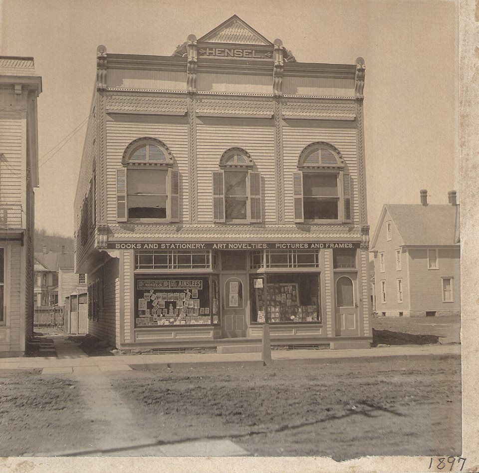 The Trading Post, Hawley, PA in 1897 | Hawley, PA history in