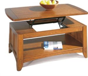 lift top coffee table oak
