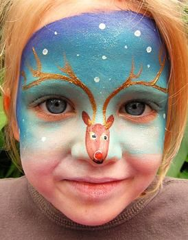 Рисунки на лице для детей: идеи, техника нанесения ...