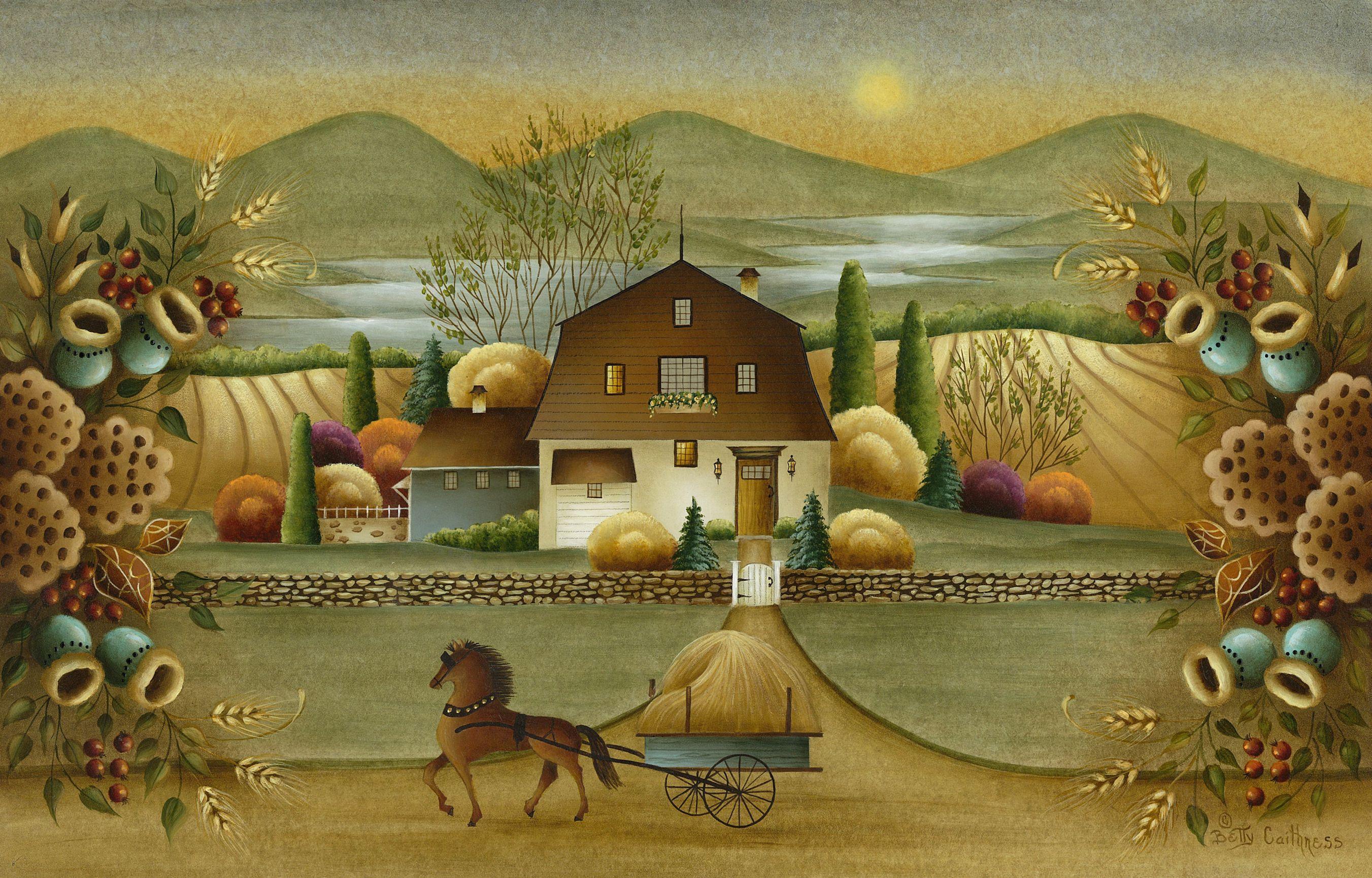Mediahousenews Com Americana Art American Folk Art Folk Art Painting
