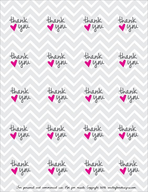 graphic about Printable Thank You Labels named Free of charge Printable! Thank Your self Choose Tags : Hey Take pleasure in Strategies