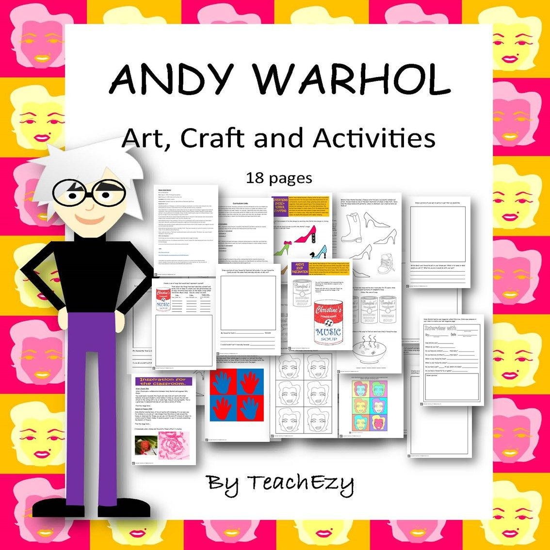 Andy Warhol Art Activities