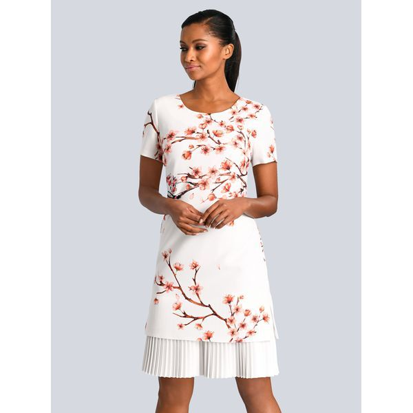 entire collection new specials biggest discount Alba Moda Kleid Alba Moda Weiß/Koralle | Couture: Guests in ...