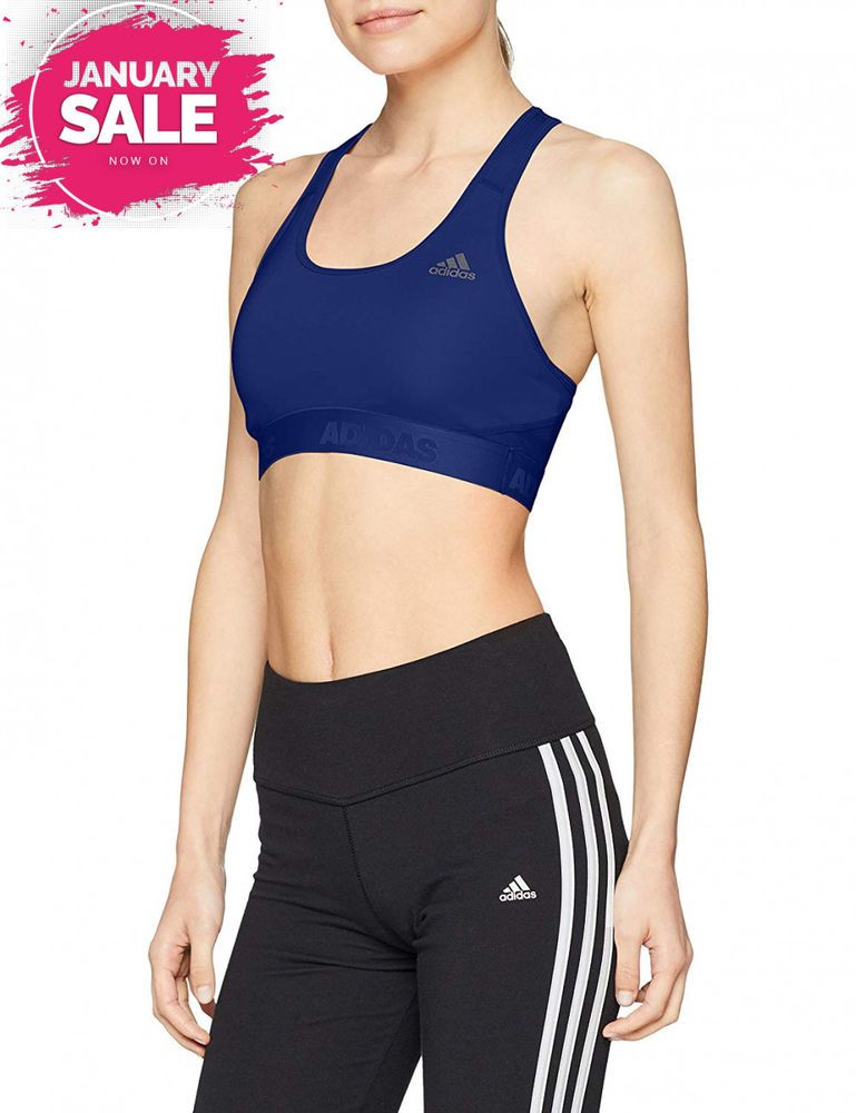 adidas Women's Alphaskin Sport Bra fashion clothing