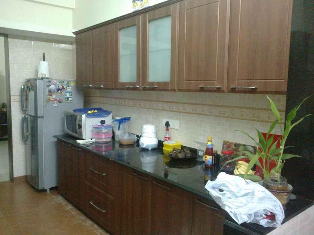 Parallel Kitchen Designed by Puran Attavar Interior Designer in