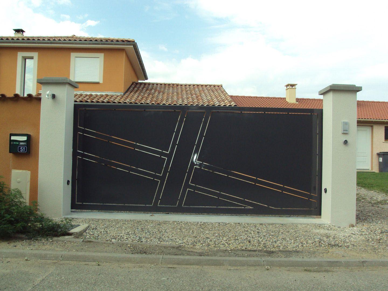 Afficher l 39 image d 39 origine portail - Portail maison moderne ...