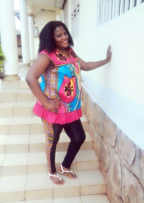 African print wear luv this outfit