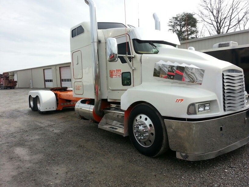 Kenworth T600 Customized And Stretched Heavy Truck Trucks Kenworth