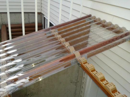 Suntuf 24 In Horizontal Plastic Closure Strips 6 Pack 92770 The Home Depot Outdoor Pergola Patio Design Outdoor Rooms