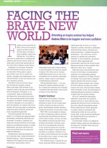 Review by Andrea Elliott for Kindred Spirit Magazine