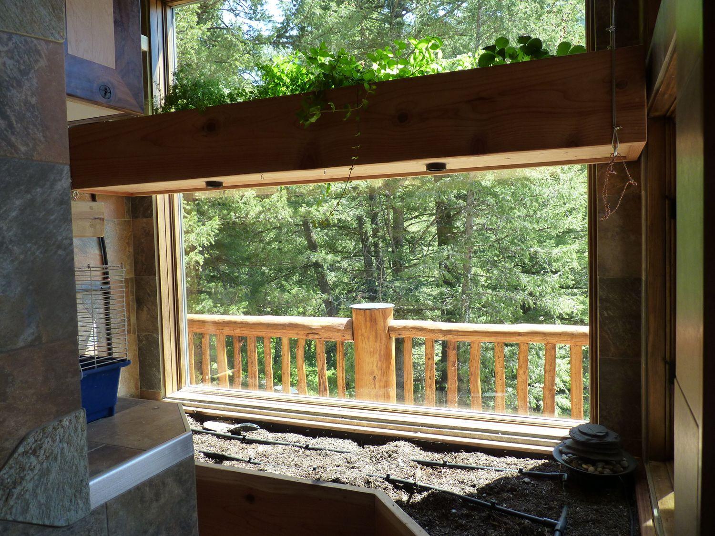 organic greenhouse garden
