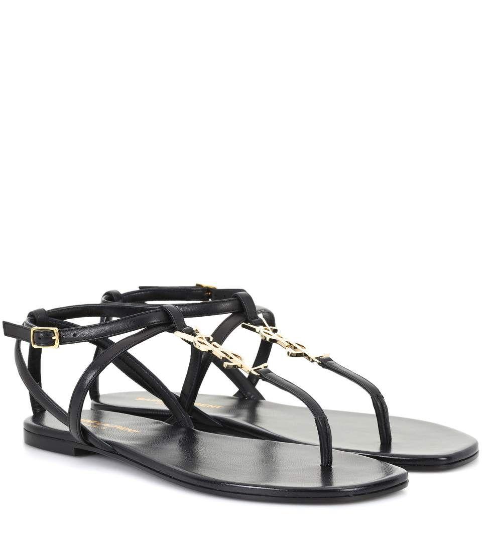 a249a07d2728 Saint Laurent - Nu Pieds 05 leather sandals